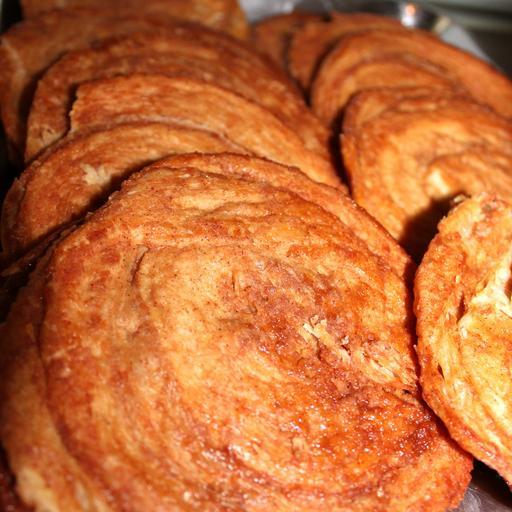 Palmier (Cinnamon Sugar)