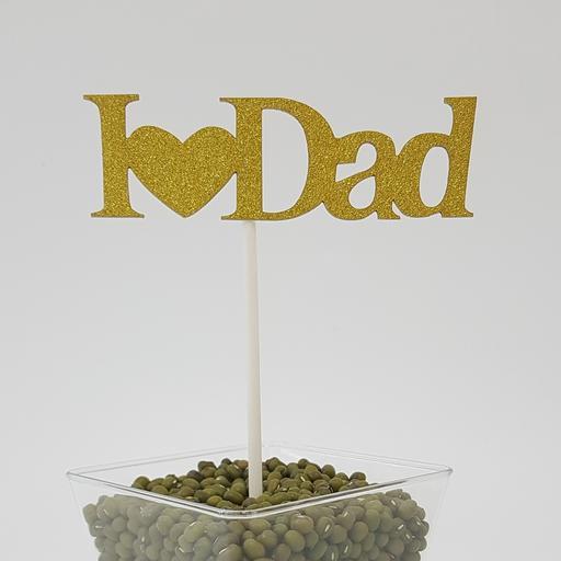 PT21 Gold I Heart Dad