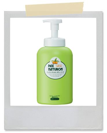 【Pax Naturon】 枇杷葉沐浴泡泡 Sunny peach body soap