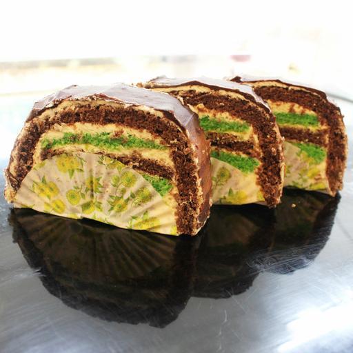 Peppermint Cream Cake