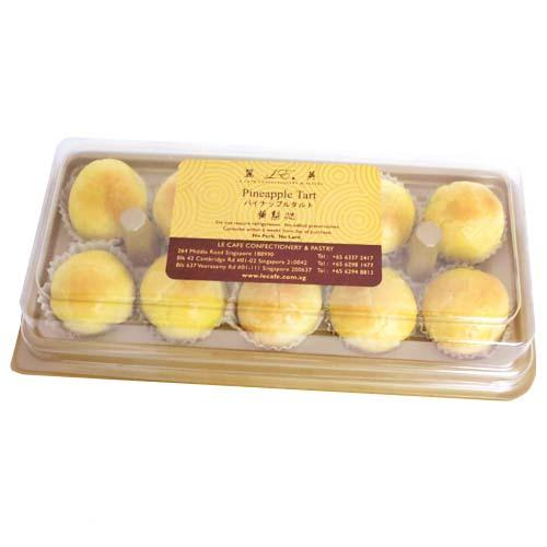 Pineapple Tarts - 10pcs Box