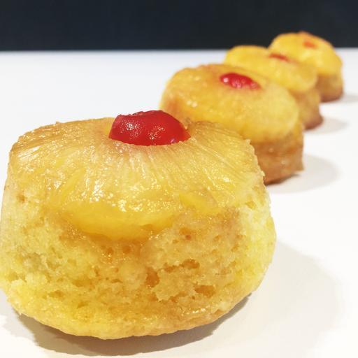 Pineapple Upside-Down Cupcake (6s)