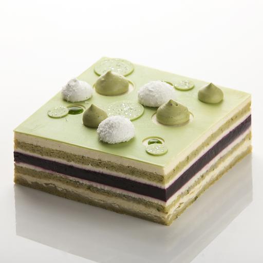 Pistachio Briolette Cake