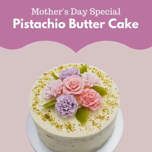 Pistachio Butter Cake (1kg)