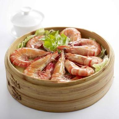 Poached Prawns with Chinese Wine (Serves 2-3)