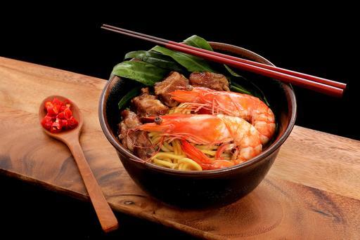 S21 - Pork Ribs Big Prawn Noodle