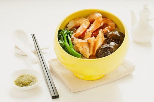 Prawns and Crab Meat 虾球蟹肉