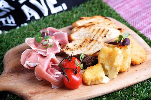 Prosciutto & Breaded Fried Brie