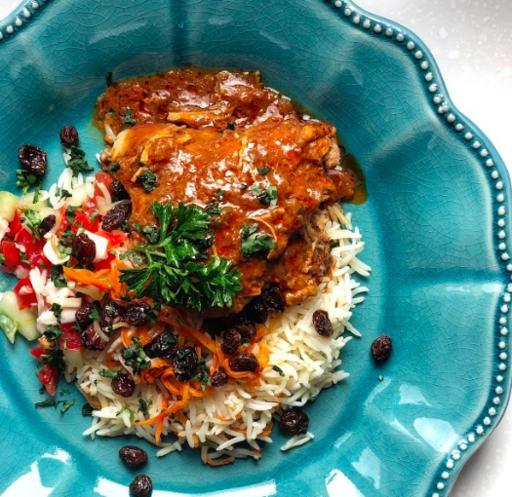 Qhabeli & Curry Chicken