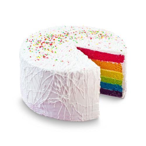 "Rainbow Cake 8"""