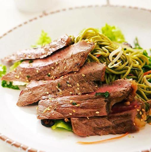 Ribeye Beef soba