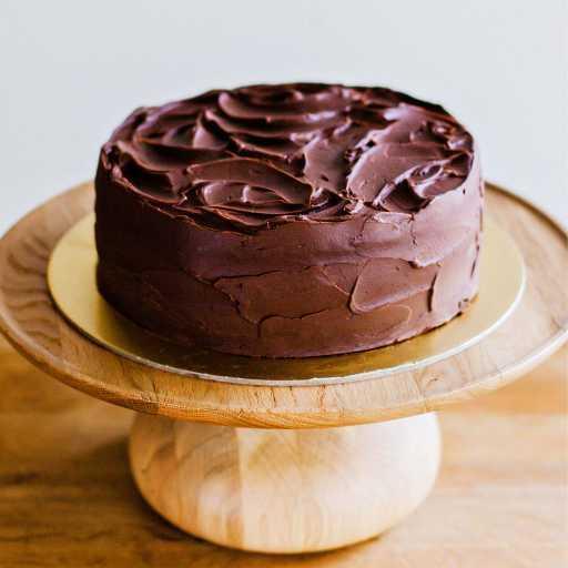 Rich Cognac Chocolate Ganache Cake