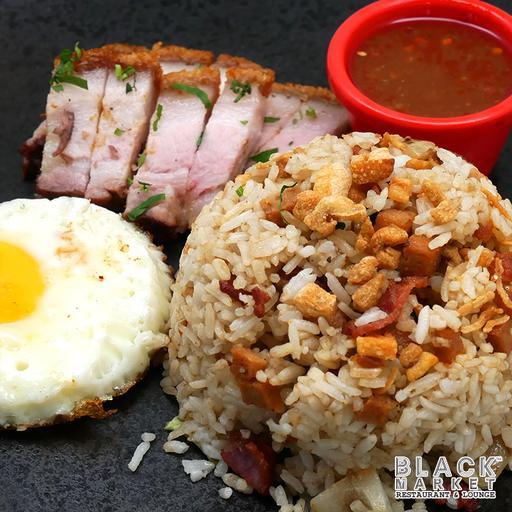 Roast Pork Fried Rice (Non Halal)