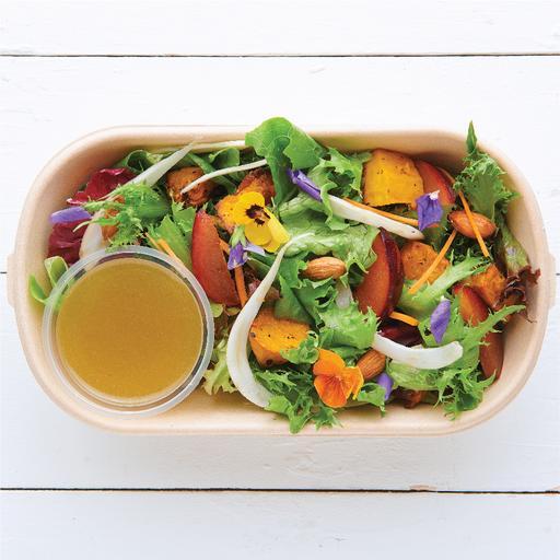Roast Pumpkin & Plum Salad (v)
