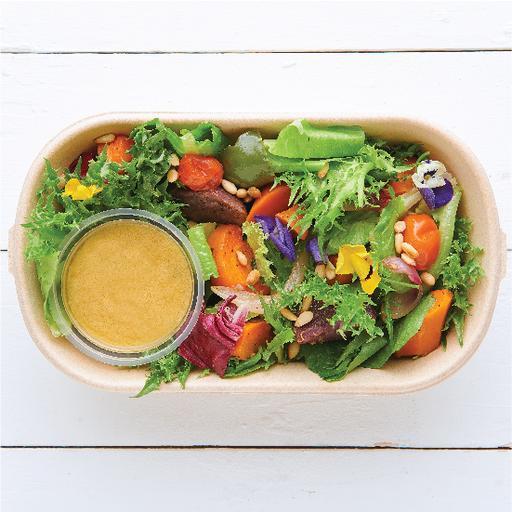 Roast Summer Vegetable & Chicken Salad