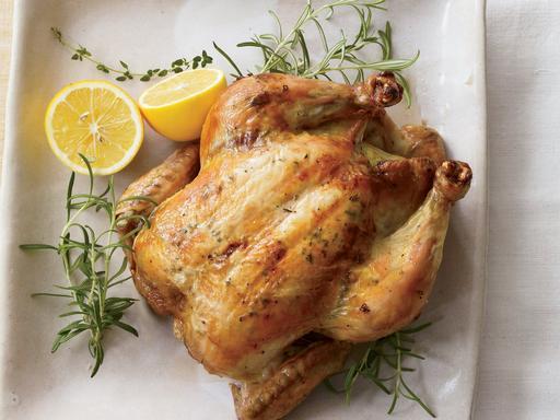 E5  香草牛油燒雞  Roast Chicken