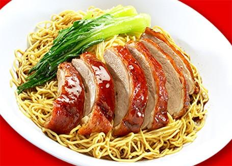 Roasted Duck Noodle 烧鸭面