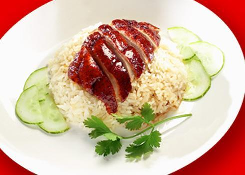 Roasted Duck Rice 烧鸭饭