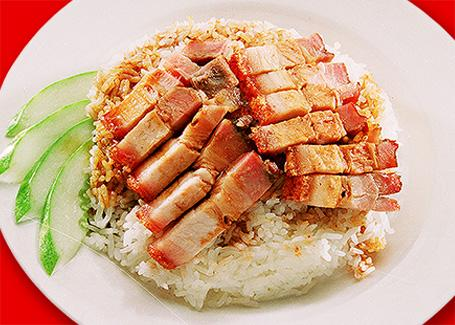 Roasted Meat Rice 烧肉饭