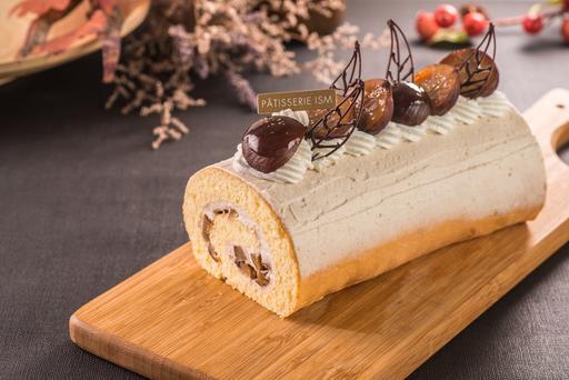 栗子蛋糕捲|Roule aux Marron