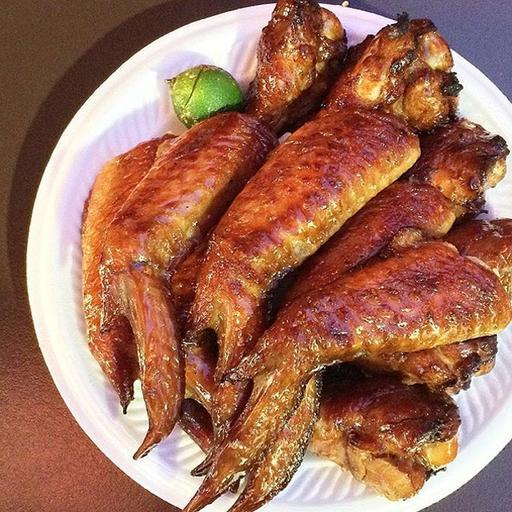 S18- 3 BBQ Chicken Wings