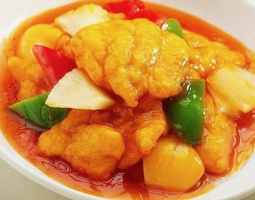 S1- Sweet & Sour Sliced Fish