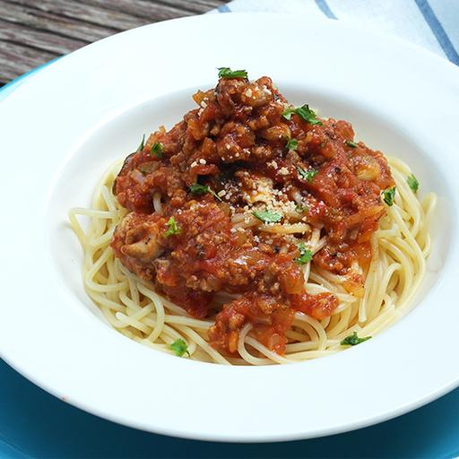 S26-Beef Bolognese Spaghetti