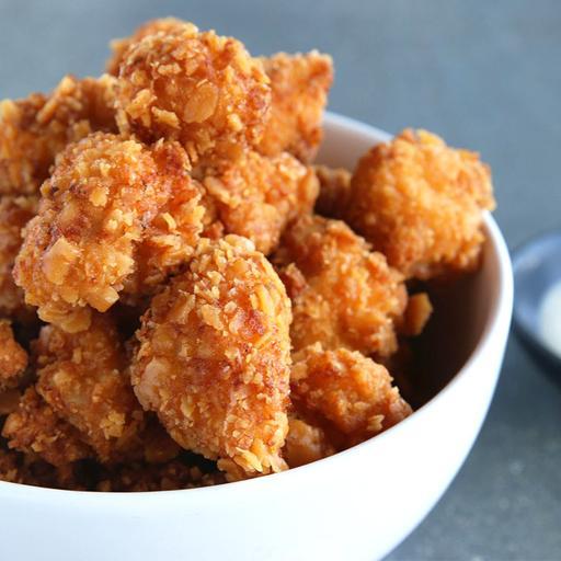 S26-Popcorn Chicken with Nacho Cheese