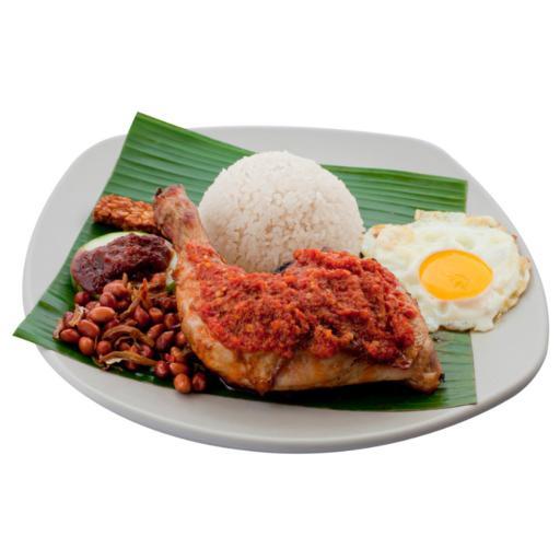 S33 - Ayam Taliwang w Freshly Fried Eggs