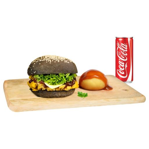 SM6: Single Premium Burger Set Meal