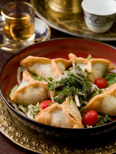 SPINACH BOREK (FATAYER) (V)