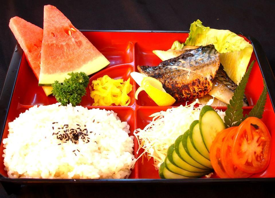 Saba Set (鲭鱼饭盒)
