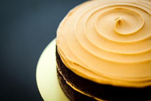 Sally (Peanut Butter & Dark Chocolate Cake)