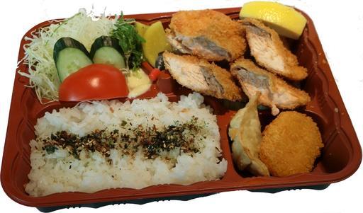 Salmon Fried Bento