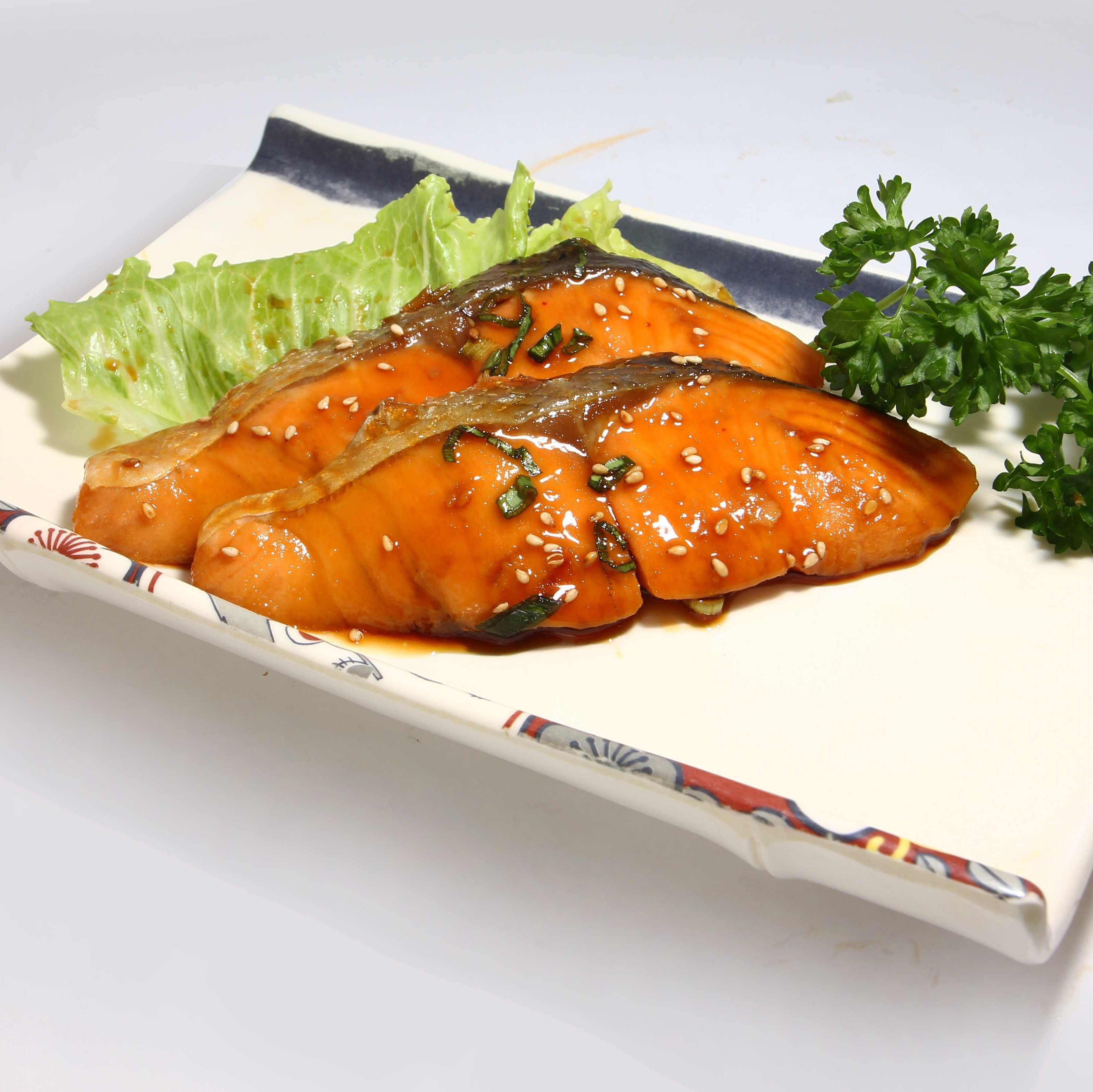 Salmon Teriyaki (照烤三文鱼)