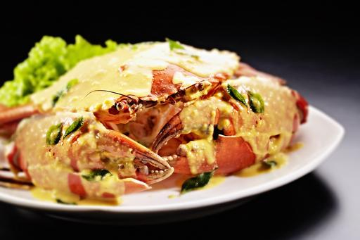 Salted Egg Crab 咸蛋螃蟹