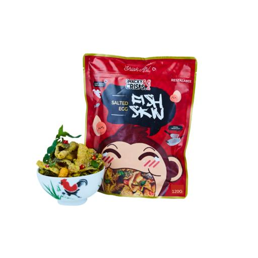Salted Egg Fish Skin (Small) -120g