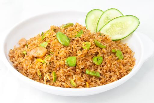 Sambal Petai Fried Rice叁芭臭豆炒饭