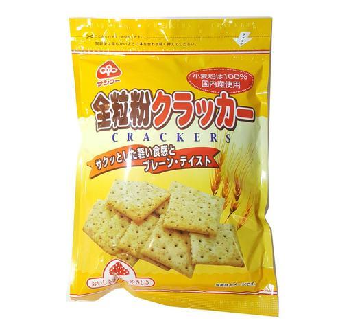 【Sanko】 全粒粉餅餅 Sanko whole grains crackers