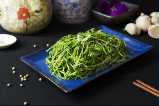 Sautéed Organic Green Pea Shoot