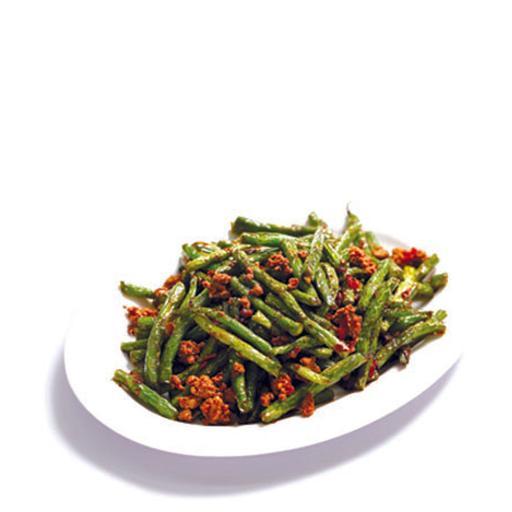 Sauteed Long Beans with Minced Pork 干煸四季豆