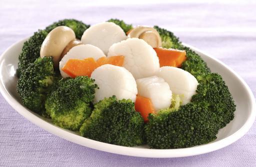 Sauteed Scallop with Broccoli 西兰花炒带子