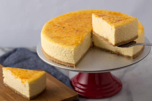 Sea Salt Caramel Cheesecake