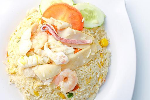 Seafood Fried Rice海鲜炒饭
