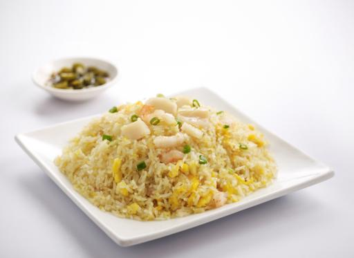 Seafood Fried Rice, Large (6-8 servings)