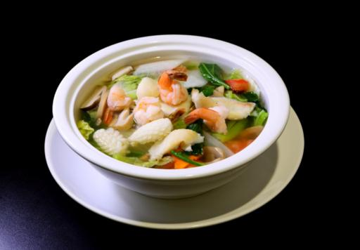 Seafood Soup with Mixed Vegetables