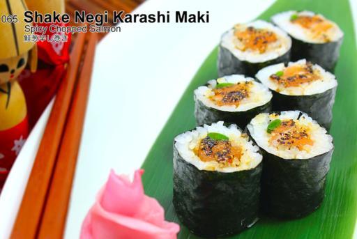 Shake Negi Karashi Maki
