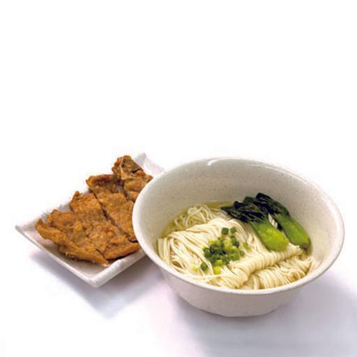 Shanghai Pork Chop La Mian In Soup 上海大排拉面 (汤)