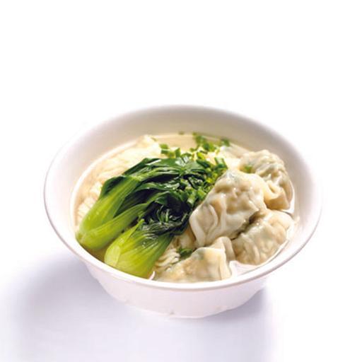 Shanghai Wanton La Mian In Soup 上海云吞拉面