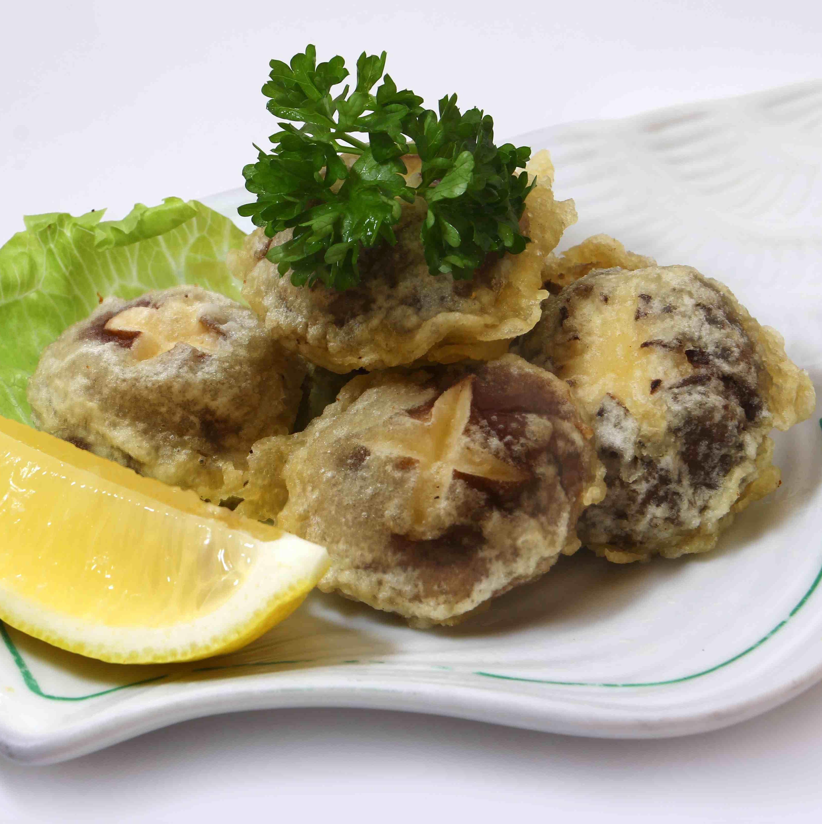 Shitake Tempura ( 香菇天妇罗)